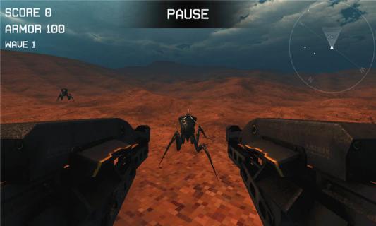 外星昆虫射手游戏截图3