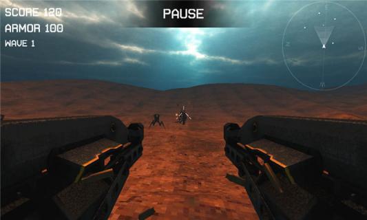 外星昆虫射手游戏截图2