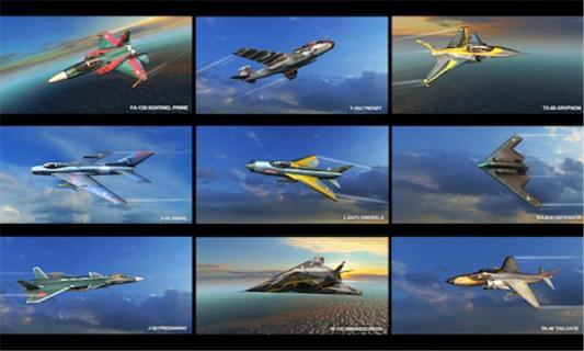 现代空战3D游戏截图4