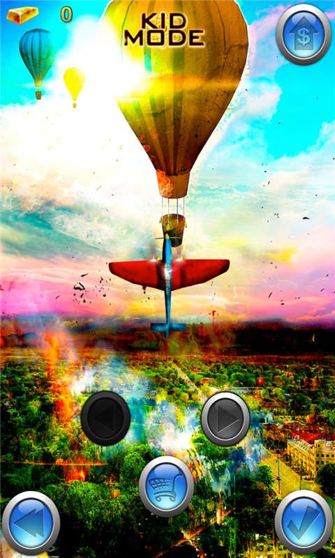手机游戏 飞行游戏 疯狂飞机