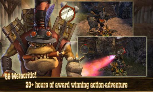 奇异世界怪客的愤怒游戏截图3