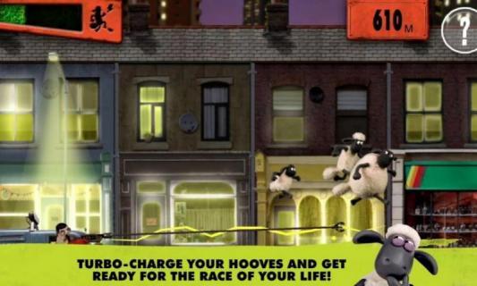 小羊肖恩快跑游戏截图3
