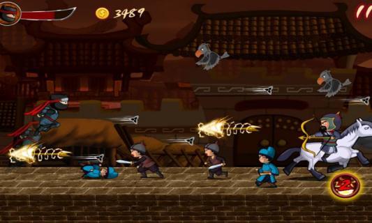 忍者英雄战游戏截图2