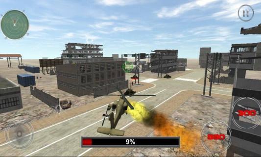 直升飞机大战坦克安卓版截图