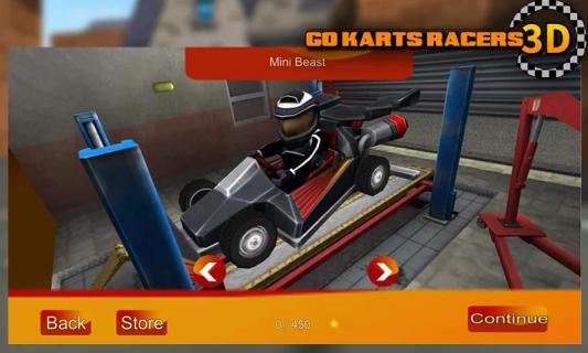 卡丁车赛车3D游戏截图2