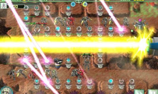 机器战士防御战游戏截图3