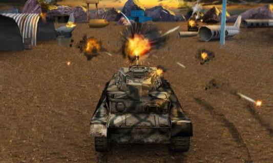 坦克战3D游戏截图2