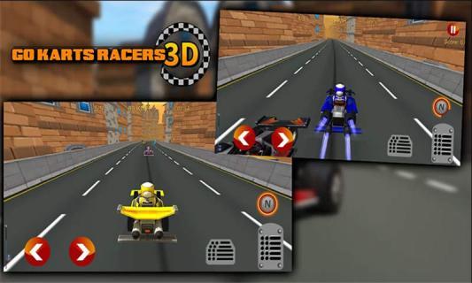 卡丁车赛车3D游戏截图3