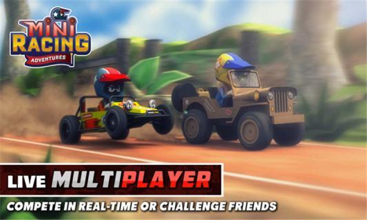 迷你赛车冒险游戏截图1