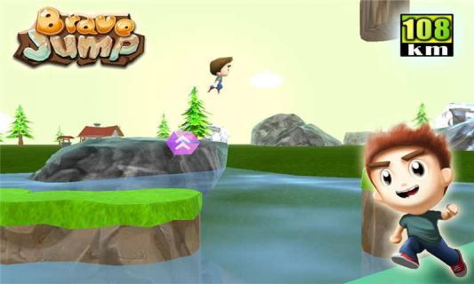 跳跳勇者游戏截图1