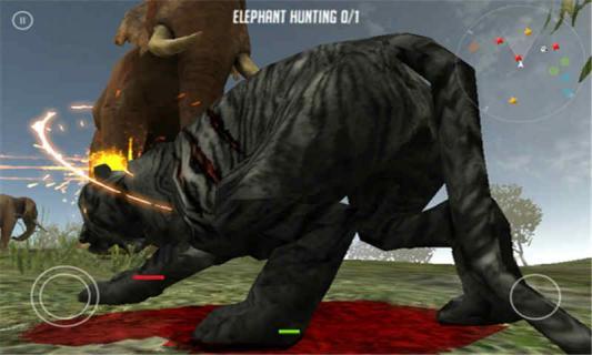 黑蓝虎的生涯游戏截图2
