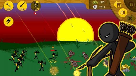 火柴人战争遗产游戏截图2
