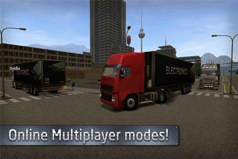 欧洲卡车司机游戏截图3