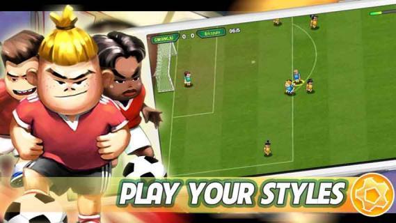 脚下功夫足球游戏截图1