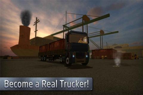 欧洲卡车司机游戏截图4