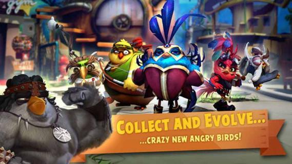 愤怒的小鸟进化游戏截图1