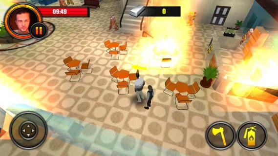 火灾逃生3D游戏截图3