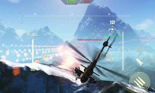世界级武装直升机游戏截图4