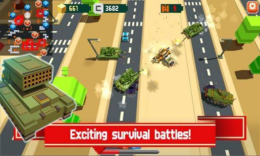像素坦克战争游戏截图4