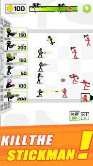 火柴人军队防卫者游戏截图5