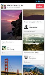 Pinterest软件截图5