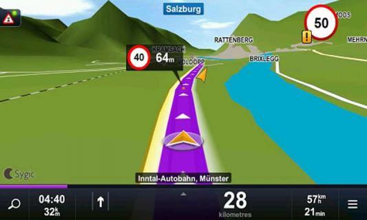 Sygic导航软件截图3
