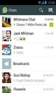 WhatsApp软件截图3