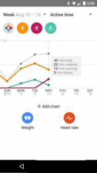 Google健身软件截图3
