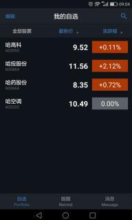 股价提醒软件截图1